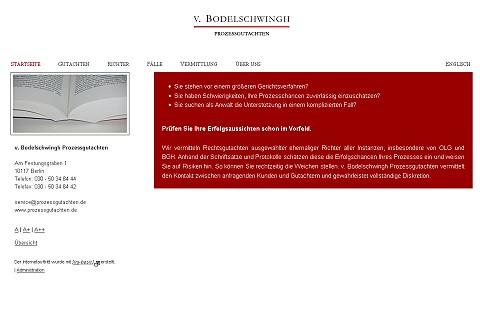Bild zur Referenz v. Bodelschwingh Prozessgutachten